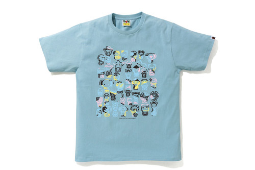 Picture No.2 of BAPE NEW MULTI CAMO A TO Z TEE 2H30-110-009