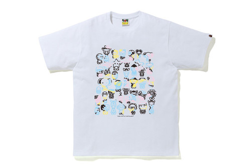 Picture No.3 of BAPE NEW MULTI CAMO A TO Z TEE 2H30-110-009