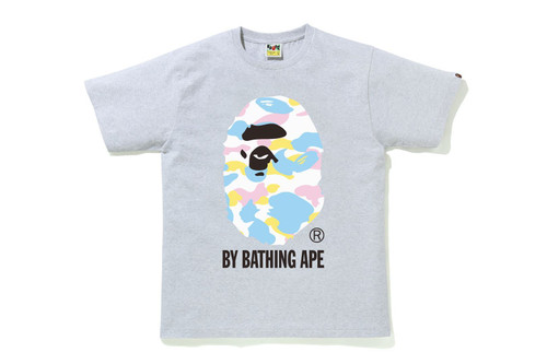 Picture No.4 of BAPE NEW MULTI CAMO BY BATHING APE TEE 1H30-110-033