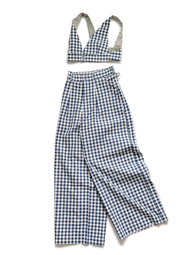 Picture No.1 of KAPITAL French Gingham Check Cruise Suit K2105LP155