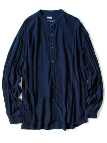Picture No.1 of KAPITAL IDG Rayon Band Collar Shirt K1609LS035EK-601