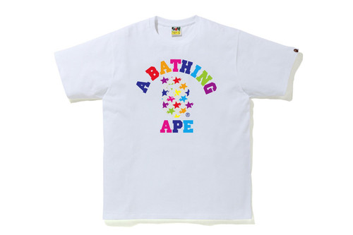 Picture No.2 of BAPE STA PATTERN COLLEGE TEE 1H80-110-034