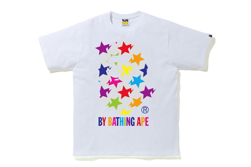 Picture No.2 of BAPE STA PATTERN BY BATHING APE TEE 1H80-110-035