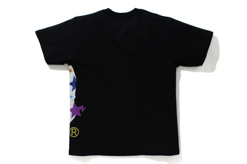 Picture No.2 of BAPE STA PATTERN SIDE BIG APE HEAD TEE 1H80-110-036
