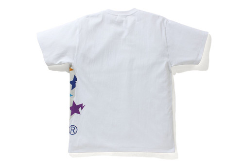 Picture No.4 of BAPE STA PATTERN SIDE BIG APE HEAD TEE 1H80-110-036