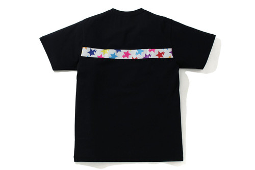 Picture No.2 of BAPE STA PATTERN TAPE APE HEAD TEE 1H80-110-058