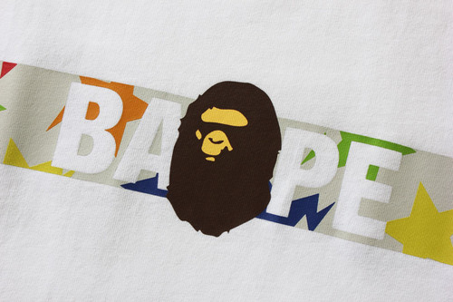 Picture No.6 of BAPE STA PATTERN TAPE APE HEAD TEE 1H80-110-058