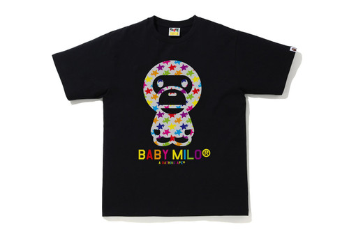 Picture No.1 of BAPE STA PATTERN BABY MILO TEE 2H80-110-010