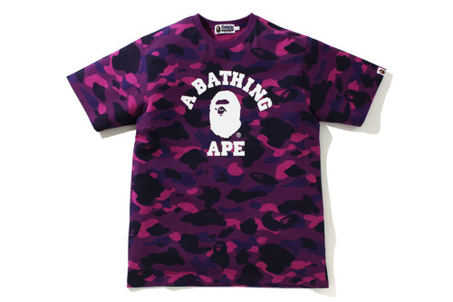 Picture No.1 of BAPE COLOR CAMO COLLEGE TEE 1H20-109-045