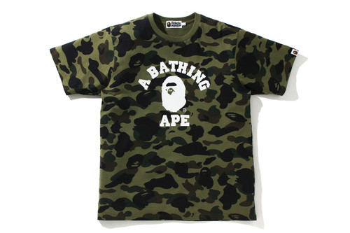 Picture No.1 of BAPE 1ST CAMO COLLEGE TEE 1H20-109-044