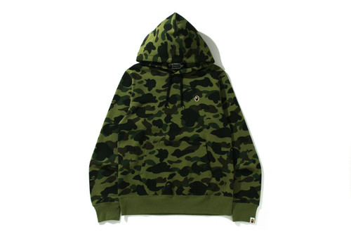 Picture No.1 of BAPE 1ST CAMO ONE POINT PULLOVER HOODIE 1H80-114-004