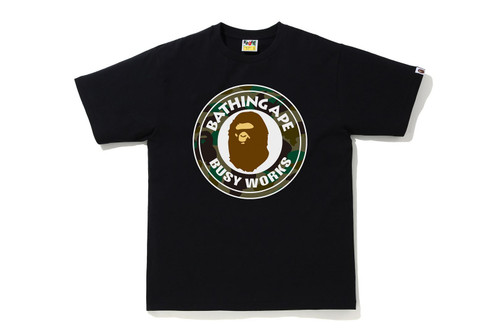 Picture No.1 of BAPE 1ST CAMO BUSY WORKS TEE 1H80-110-008