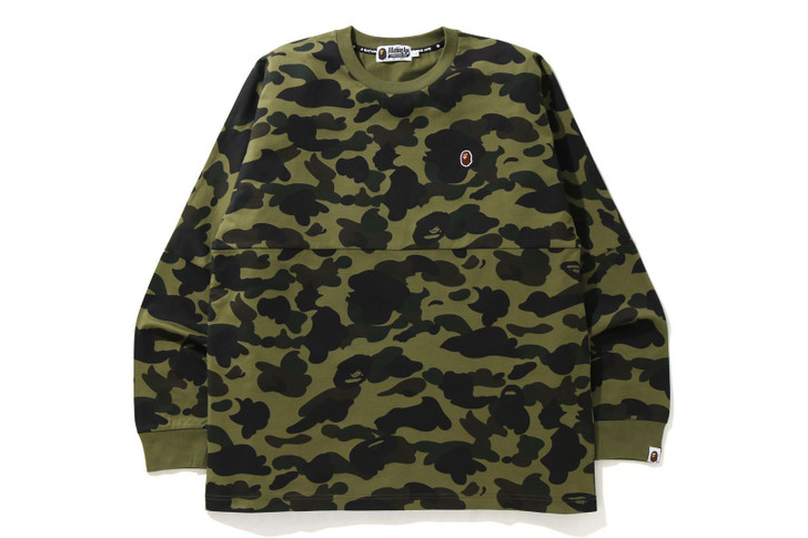 Picture No.1 of BAPE 1ST CAMO RELAXED FIT L/S TEE 1H30-111-007