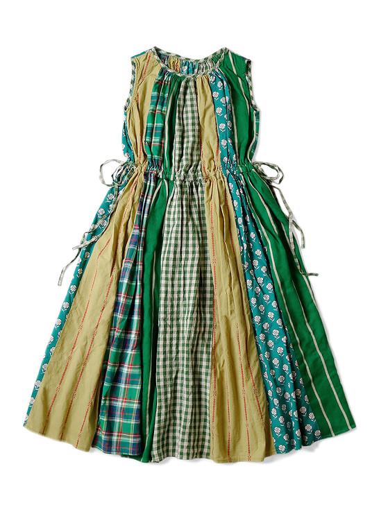 Picture No.1 of KAPITAL Crazy Patchwork Caro Dress K2104OP115