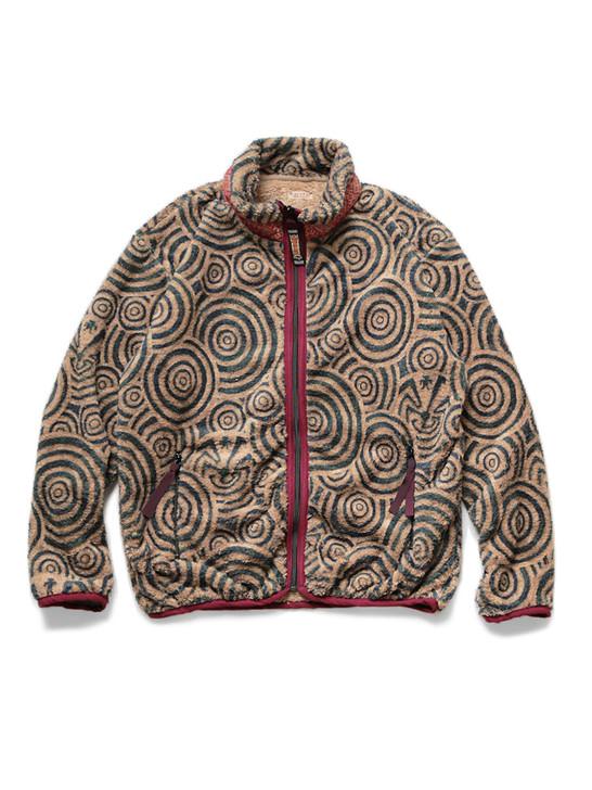 Picture No.1 of KAPITAL MAZE Pattern Fleece ZIP Blouson K1911LC132EK-952