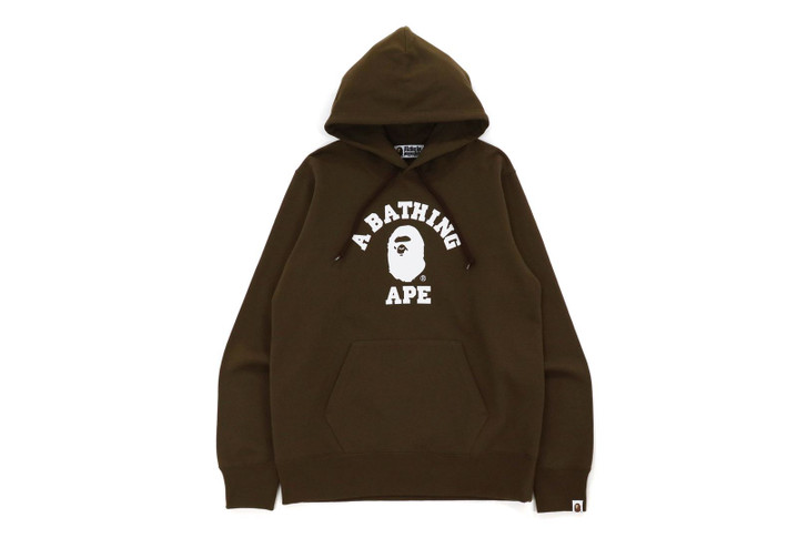 Picture No.1 of BAPE COLLEGE PULLOVER HOODIE 1H70-114-008
