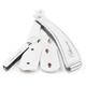Parker SRX Stainless Steel Clip Type Straight Barber Razor