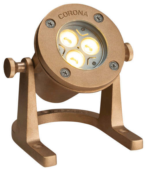 Corona Lighting CL-307 Underwater LED Light Natural Brass