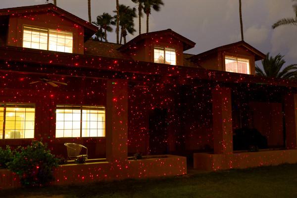 Illuminator Laser Lights by Sparkle Magic- Crimson Stars (Red)