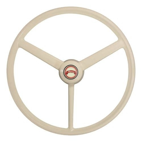"""RETRO BONE"" 20"" 3 spoke Steering wheel"