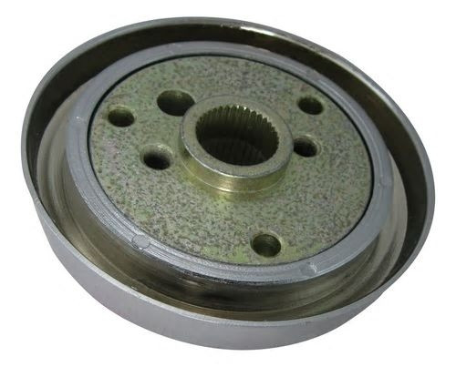 3 Hole Steering Wheel Hub, Chrome Finish Fits International (Navistar) - All Models, Tilt & Telescopic