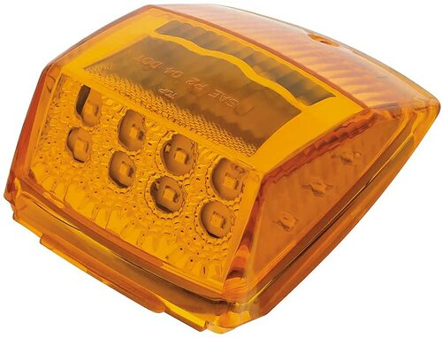 Amber LED Rectangular Cab Light (United Pacific)