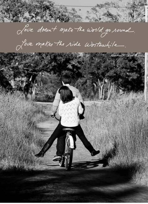 Couple on Bike   436A