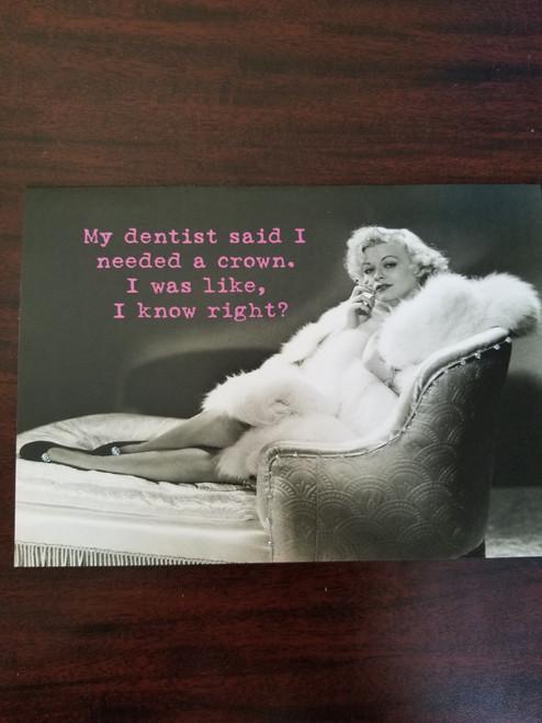 Card-Dentist Crown