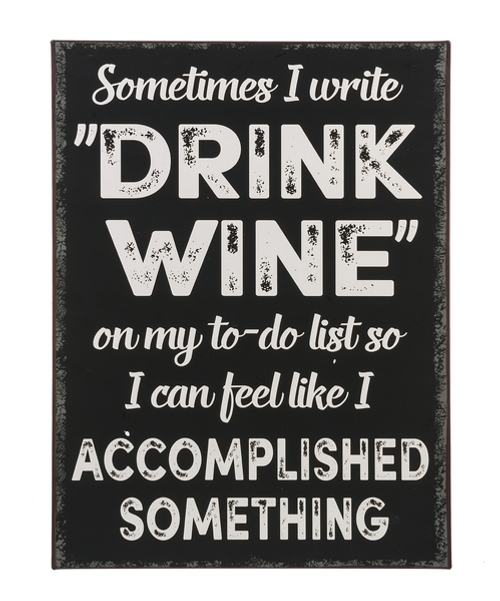 Sometimes Drink Wine for To Do List