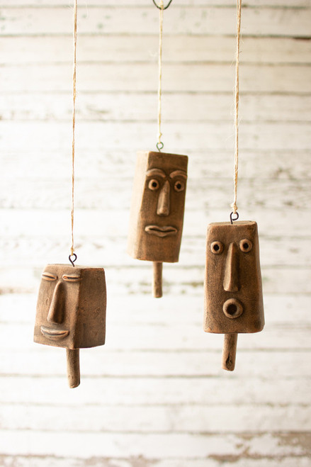 Clay Hanging Bells