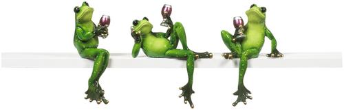 Frog Shelf Sitters   ER26465