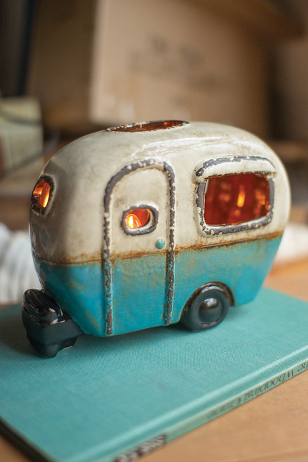Ceramic Camper Night Light