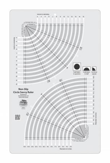 Creative Grids Circle Savvy 11-3/4in x 18-1/2in