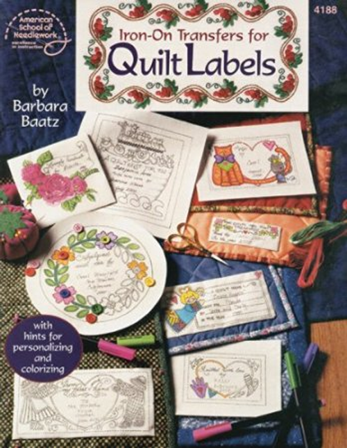 American School: Iron-On Transfers For Quilt Labels