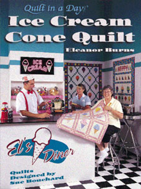 Ice Cream Cone Quilt Book