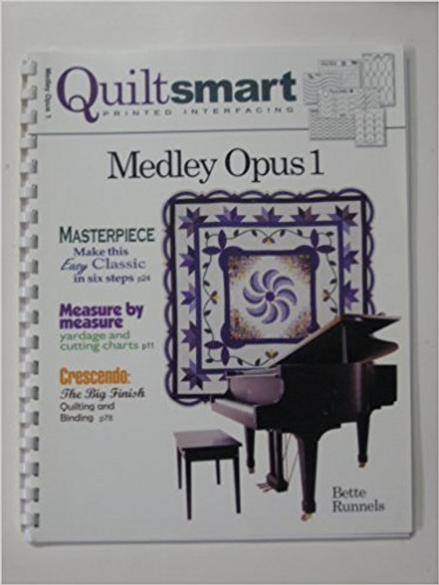 Medley Opus 1 (Quiltsmart Printed Interfacing)