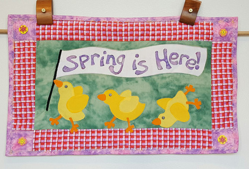 Spring is Here  Wall Quilt