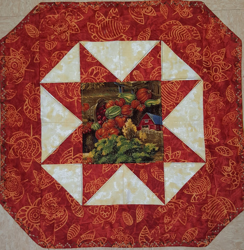 Fall Table Mat-Reversible