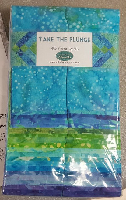 Take the Plunge Batik strips