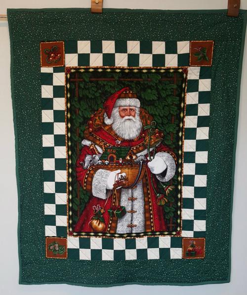 Santa Comes Visiting