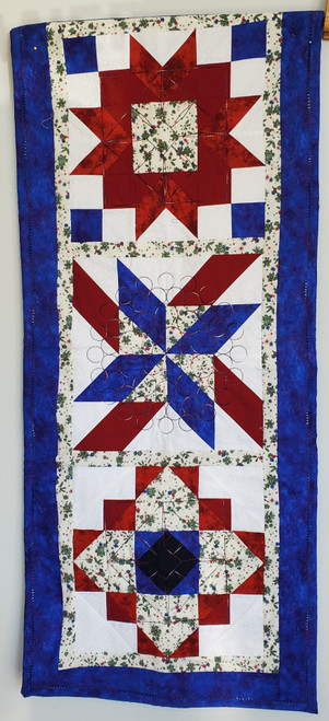 Patriotic Table Runner or Wall Hanging