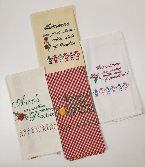 Towels for Grandma