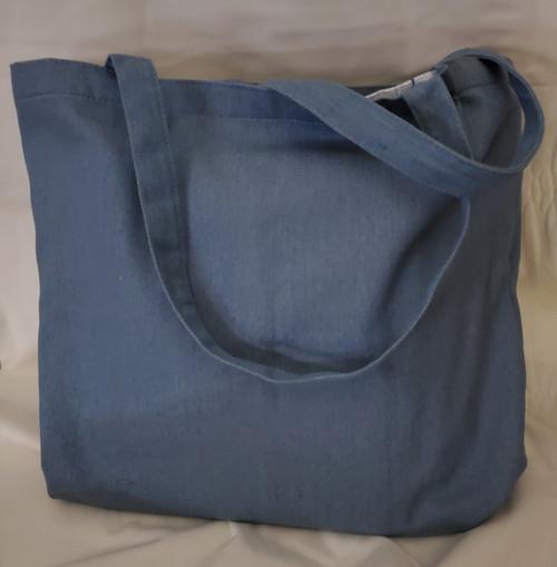 Kimberbell Blank Chambray Tote Bag
