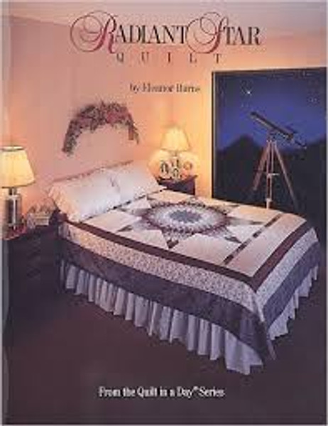 Radiant Star Quilt by Eleanor Burns c.1990