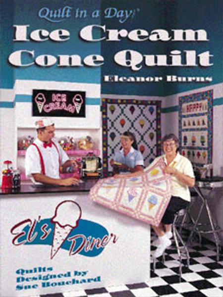 Ice Cream Cone Quilt Book