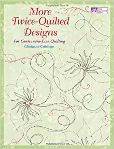 More Twice-Quilted Designs: For Continuous-Line Quilting