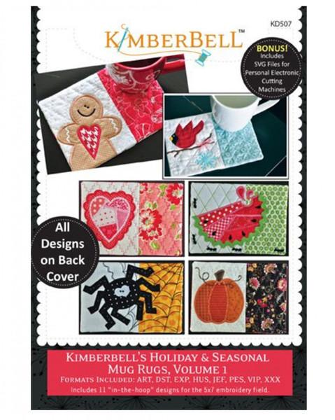 CD-ROM Kimberbell's Holiday & Seasonal Mug Rugs Vol 1 # KD507