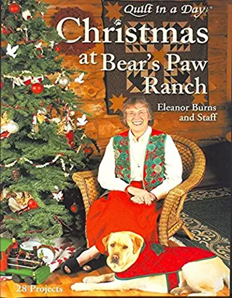 Front cover of: Christmas at Bear's Paw Ranch by Eleanor Burns