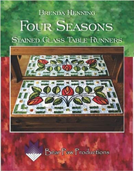 Four Seasons Stained Glass TableRunners