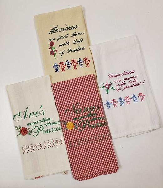 Towels for Grandma